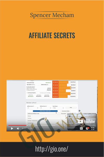 Affiliate Secrets - Spencer Mecham