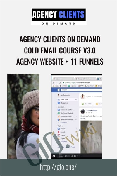 Agency Clients On Demand + Cold Email Course V3.0 + Agency Website + 11 Funnels - Agency Clients On Demand