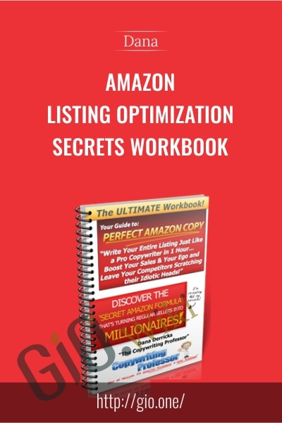 Amazon Listing Optimization Secrets Workbook