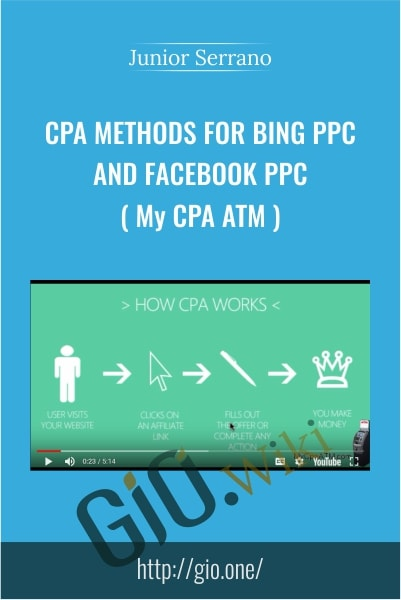 CPA methods for Bing PPC and Facebook PPC ( My CPA ATM ) - Junior Serrano