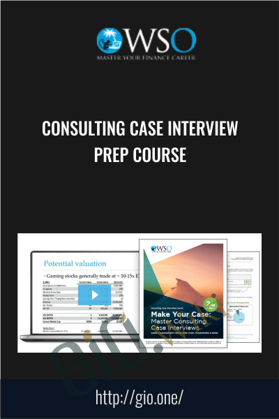 Only $44, Course Consulting Case Interview Prep Course