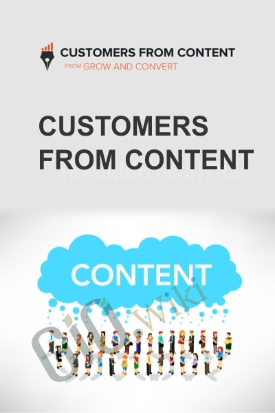 Customers from Content
