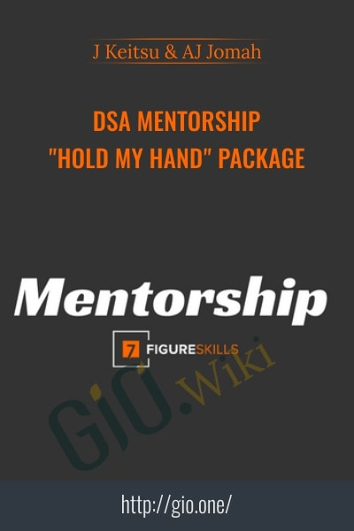 "DSA Mentorship ""HOLD MY HAND"" Package"