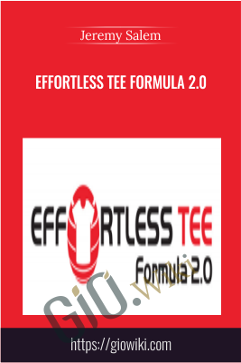 Effortless Tee Formula 2.0 - Jeremy Salem