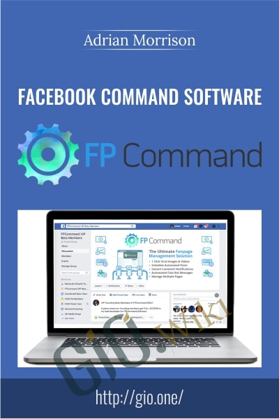 Facebook Command Software - Adrian Morrison