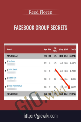 Facebook Group Secrets - Reed Floren