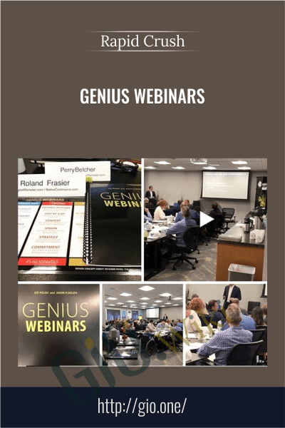 Genius Webinars - Rapid Crush