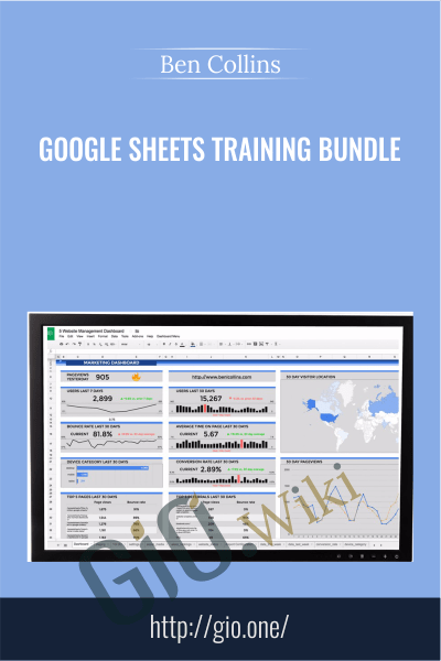 Google Sheets Training Bundle - Ben Collins
