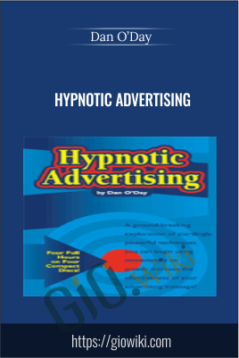 Hypnotic Advertising - Dan O'Day