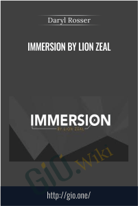 Immersion by Lion Zeal – Daryl Rosser