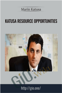 Katusa Resource Opportunities – Marin Katusa