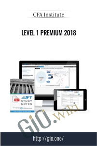 Level 1 Premium 2018 – CFA Institute