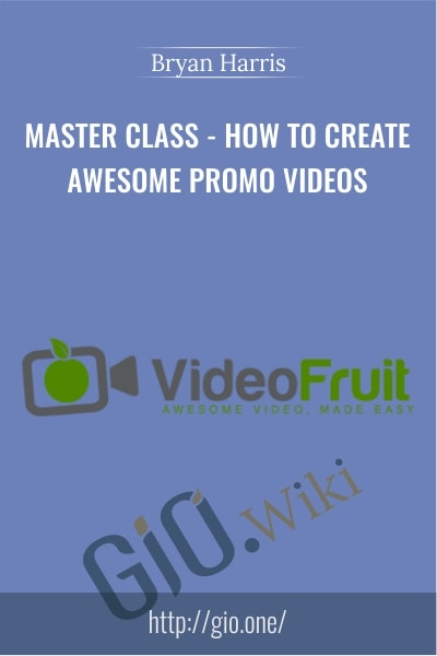MASTER CLASS-How to Create Awesome Promo VIdeos