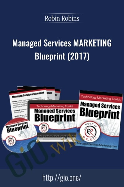 Managed Services Marketing Blueprint (2017)