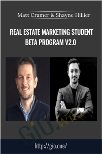 Real Estate Marketing Student Beta Program v2.0 - Matt Cramer & Shayne Hillier