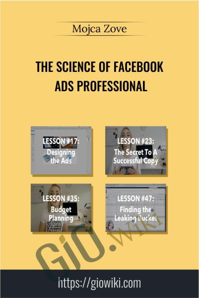 The Science of Facebook Ads Professional – Mojca Zove