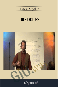NLP Lecture – David Snyder