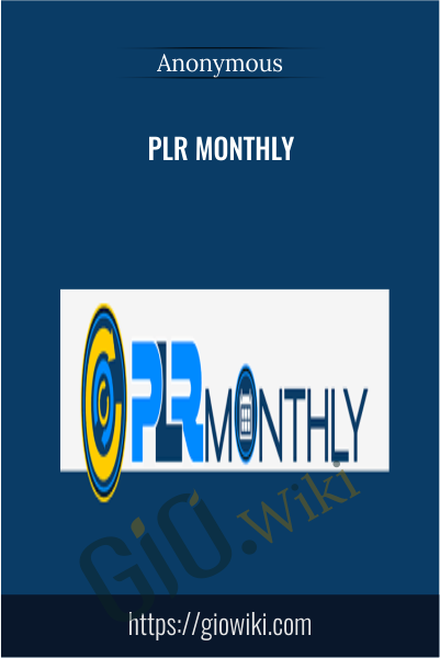PLR Monthly