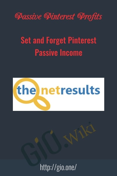 Set and Forget Pinterest Passive Income - Passive Pinterest Profits
