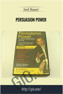 Persuasion Power – Joel Bauer
