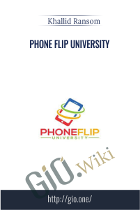 Phone Flip University - Khallid Ransom