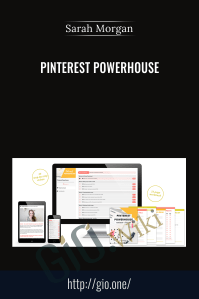 Pinterest Powerhouse - Sarah Morgan