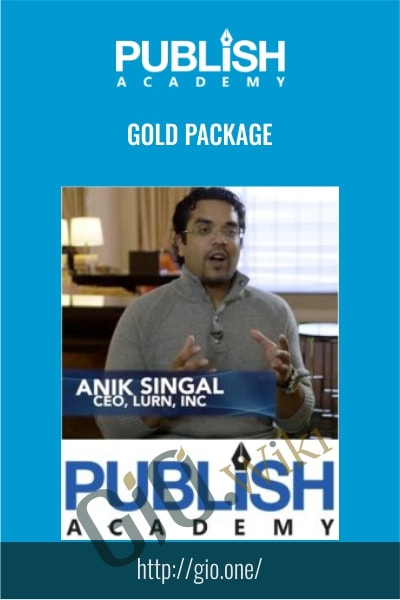 Publish Academy – Gold Package - Anik Singal