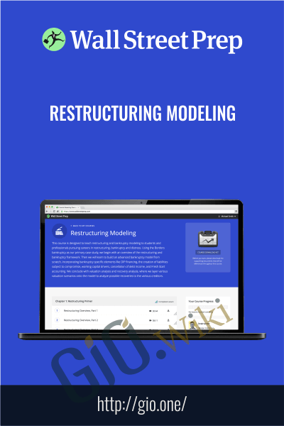 Restructuring Modeling - Wall Street Prep