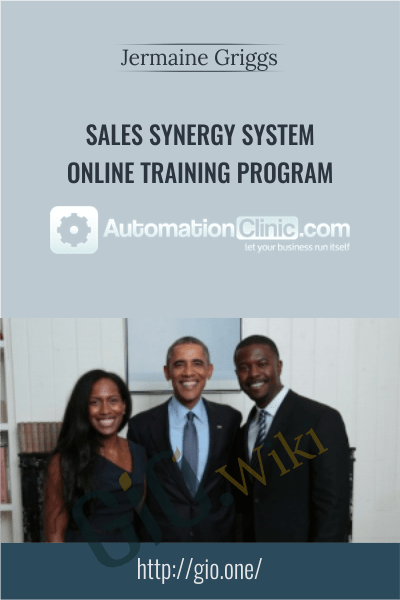 Sales Synergy System Online Training Program - Jermaine Griggs