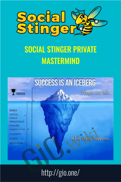 Social Stinger Private Mastermind - Teo Vanyo
