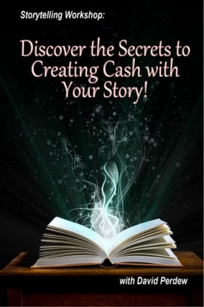 Storytelling Workshop with Sam England. Monetize Your Life with Stories – MyNAMS - David Perdew