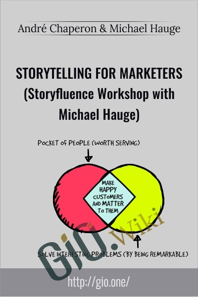 Storytelling for Marketers Storyfluence Workshop - André Chaperon & Michael Hauge
