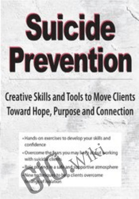 Suicide Prevention: Creative Skills and Tools to Move Clients Toward Hope, Purpose and Connection - Dr. Nancy K. Farber