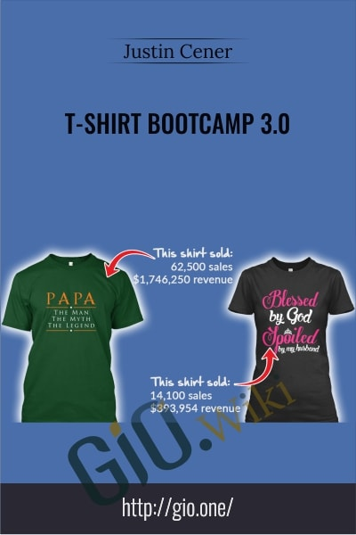T-Shirt Bootcamp 3.0