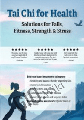 Tai Chi for Health: Solutions for Falls, Fitness, Strength & Stress - Ralph Dehner