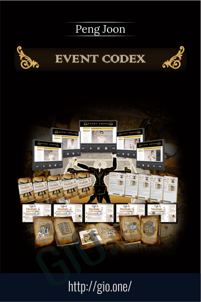The Event Codex - Peng Joon