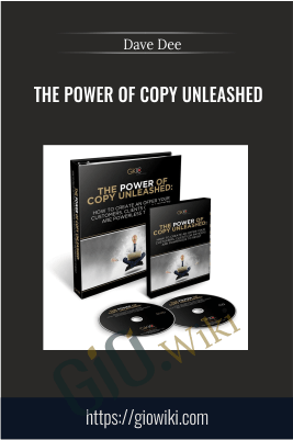 The Power Of Copy Unleashed – Dave Dee