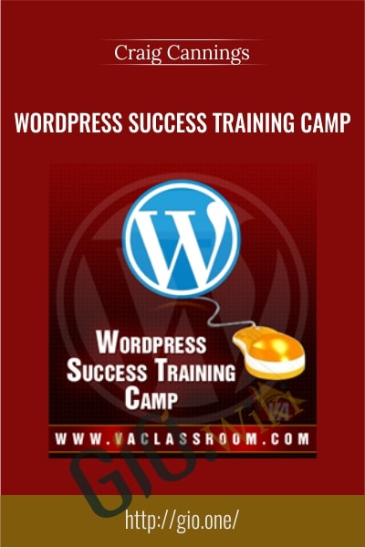 WordPress Success Training Camp - Craig Cannings