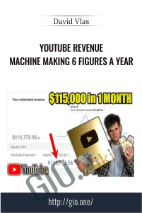YouTube Revenue Machine Making 6 Figures A Year - David Vlas
