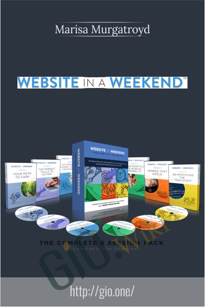 Your Website in a Weekend - Marisa Murgatroyd