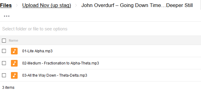 Going Down Time…Deeper Still – John Overdurf