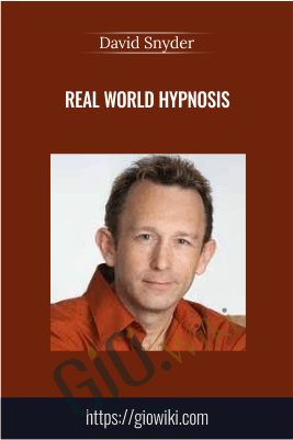 Real World Hypnosis - David Snyder