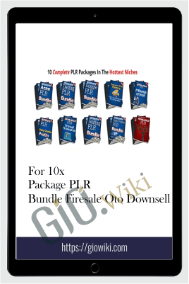 For 10x Package PLR Bundle Firesale Oto Downsell
